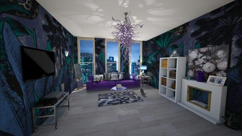 Template room New York - Modern - Living room - by BarcaNumber10
