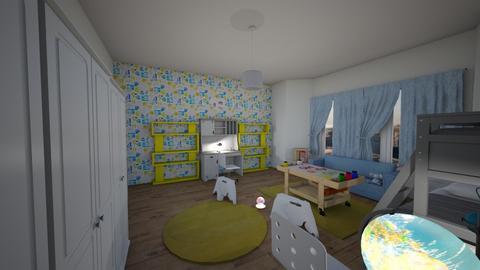 kids room 4 - Kids room  - by Lumy79