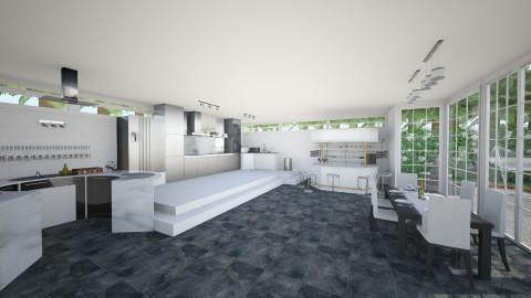 Kitchen - Modern - Kitchen  - by Tuubz