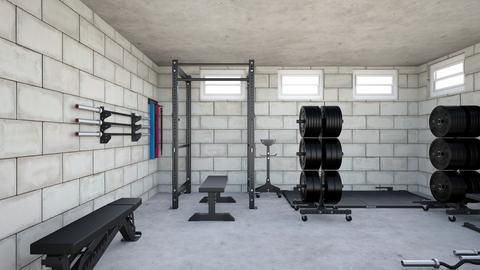 Basement gym - by rogue_570e5beb8c6a69d869ea506b713ee