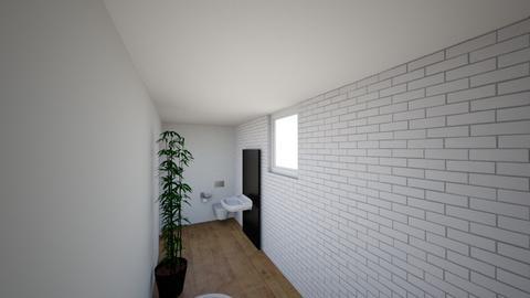 Plan poddasza 1 - Bathroom  - by gabrielasiemiaszko