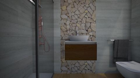 Cologno bagno ospiti20 - Bathroom - by natanibelung