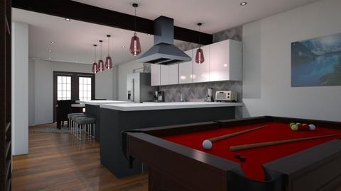 Kitch v5 cab 2 floor2 - Kitchen  - by kurtwise