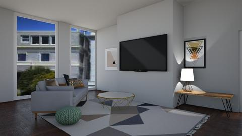 Contest 3 - Living room  - by Pompompudding