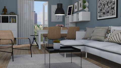 Condo - Living room - by Tuija