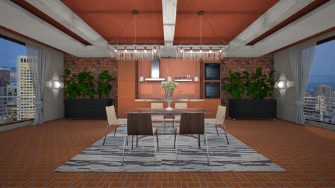 NSDr - Modern - Dining room - by Saj Trinaest