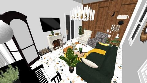 room for 1p - Living room - by iamjustpsy