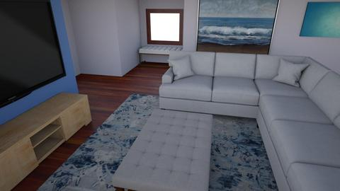 family room layout 1 - Living room  - by bobkondz
