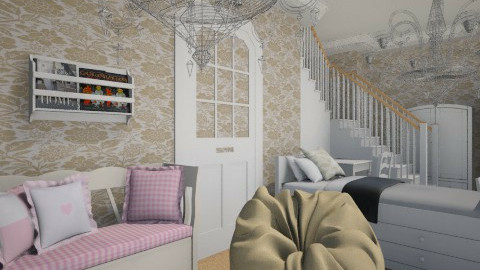 Room under the stairs - Eclectic - by Sherrycress