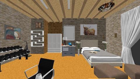 Desain Interior Ruang - Bedroom  - by JRegan007