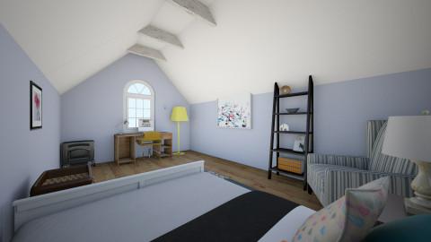 Attic Bedroom  - Bedroom  - by Enaj