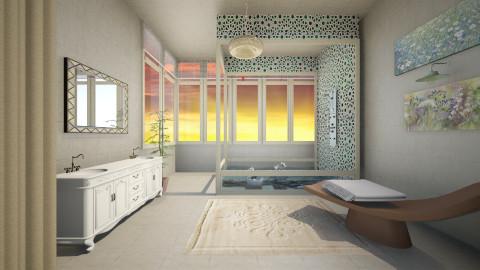 winter wood - Bathroom  - by Sara alwhatever