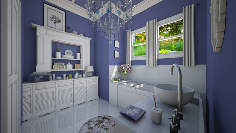 Seasoned Designers Bath - Bathroom  - by sissybee