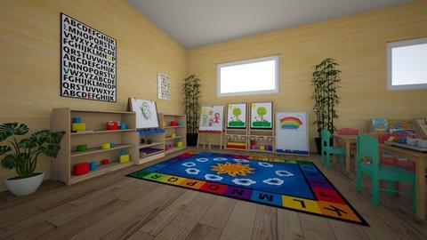 ECED 2201 - Kids room  - by baseey