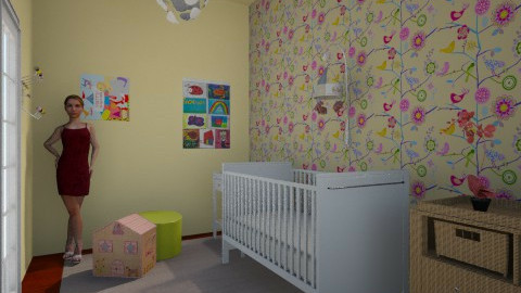 Smiling room - Kids room - by LaurenPixy