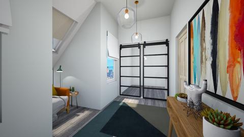 Calm Studio Hallway2 - Modern - by musicdesign22