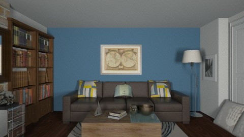 project - Eclectic - Living room - by Desmonde Monroe
