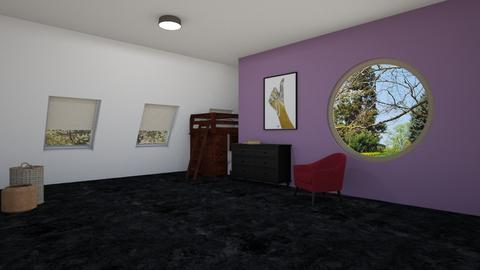 Unfininished - Modern - Bedroom - by designcat31