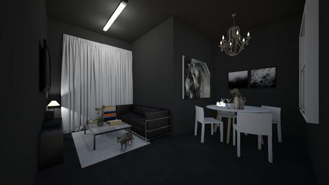 my living room - Living room  - by Nanozx99