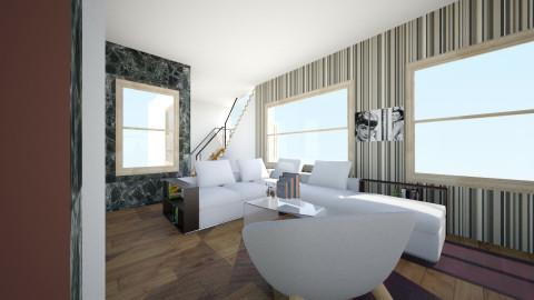 sala de esta - Minimal - Living room - by ZARIGUEYA