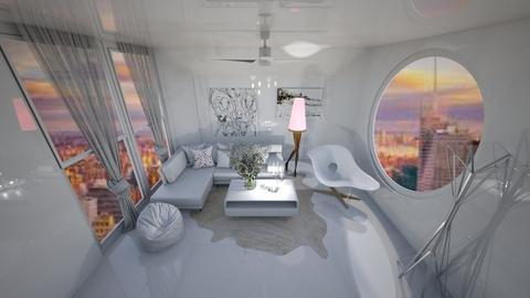 Leg Lamp - Modern - Living room  - by Hazelnut10