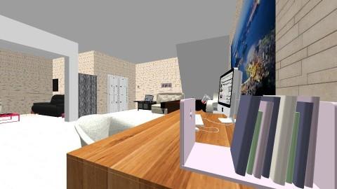 entrada - Rustic - Living room  - by paola jaramillo