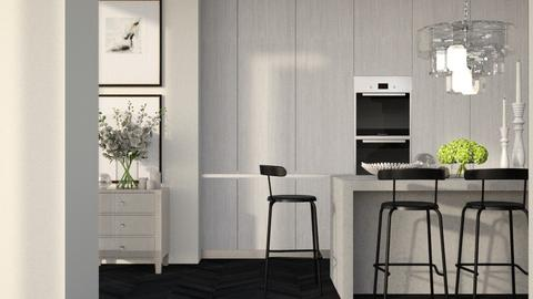 Remix_simplistic  - Modern - Kitchen  - by MiaM