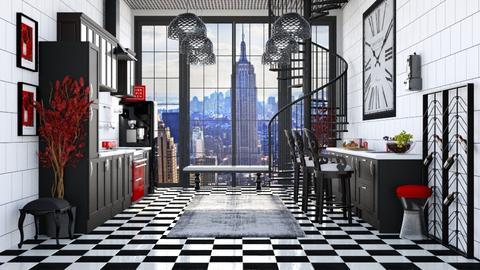 RETRO KITCHEN - Vintage - Kitchen  - by RS Designs