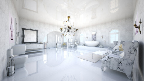 marble room - Classic - by bec21