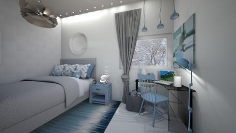 CR winter bedroom - Bedroom  - by weinsteinkids
