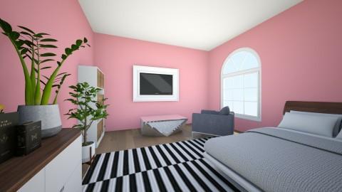 Pink Crazyness - Bedroom  - by violetpeaks