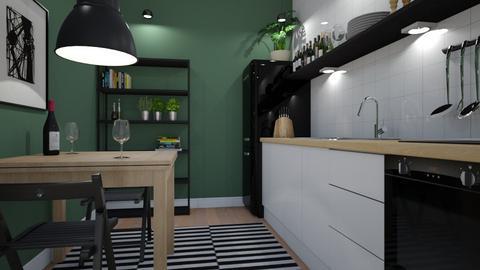 green - Kitchen  - by siljaj