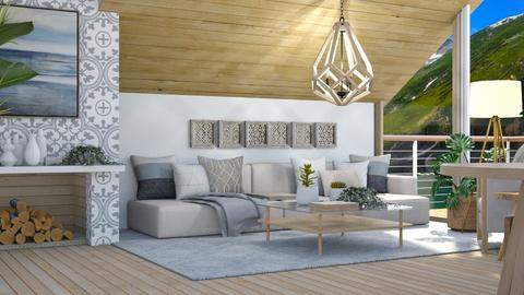 lake_contest_ NQDI - Living room  - by NEVERQUITDESIGNIT