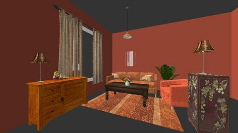 ouderwets interieur - Retro - Living room  - by carolastout