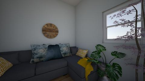 Project 2 Part 4 - Living room - by Mpumie