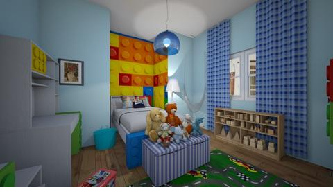 Little lego lovers room - Classic - Kids room  - by Pheebs09