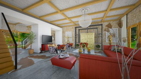 SAJcolours - Modern - Living room  - by Saj Trinaest