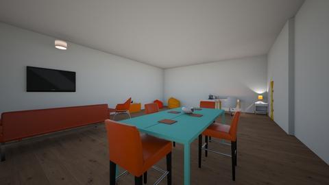 orange apartment - Retro - by Missmaeday