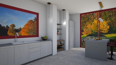 undistinguished - Minimal - Kitchen  - by Merily