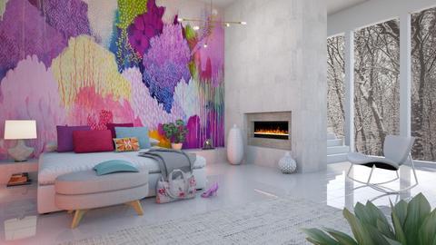 Mural Bedroom - Bedroom  - by LB1981