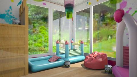 kids paint - Kids room  - by Nan