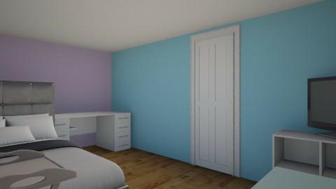my real room - Bedroom - by rachaeldulaney10