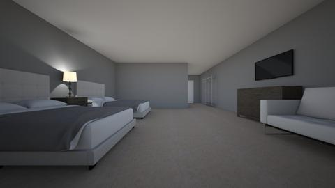South Beach Resort Room  - Modern - Bedroom  - by Galaxyggggg