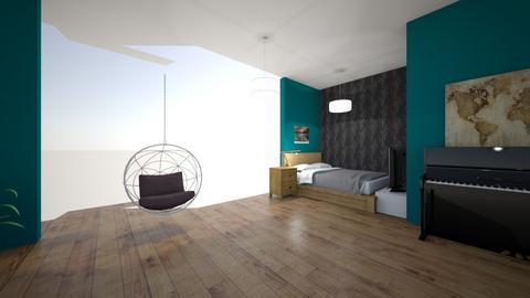 Eerste kamer - Bedroom - by henk de potvis