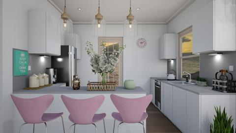 light kitchen - Modern - Bedroom  - by gingerlily