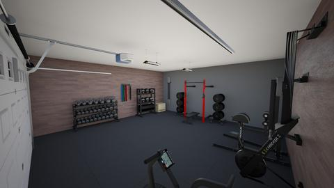 Garage Gym - by rogue_207a2601b0c91bf76de943f378b98