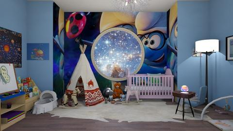 baby nursery - Modern - Kids room  - by BlackOrchidea