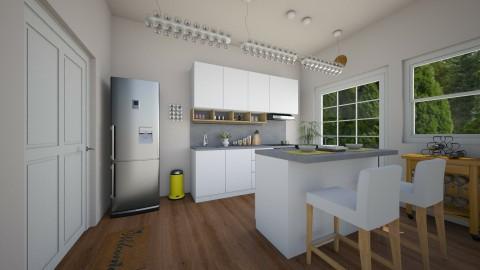 Inspired by IKEA - Kitchen - by saraellex
