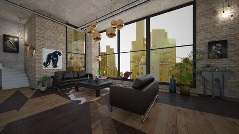industrial room - Living room - by Robert_Roisgard