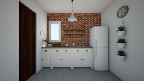 kuchyna domcek - Vintage - Kitchen  - by laursk7